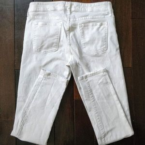 Gap Always Skinny Optic White Jeans